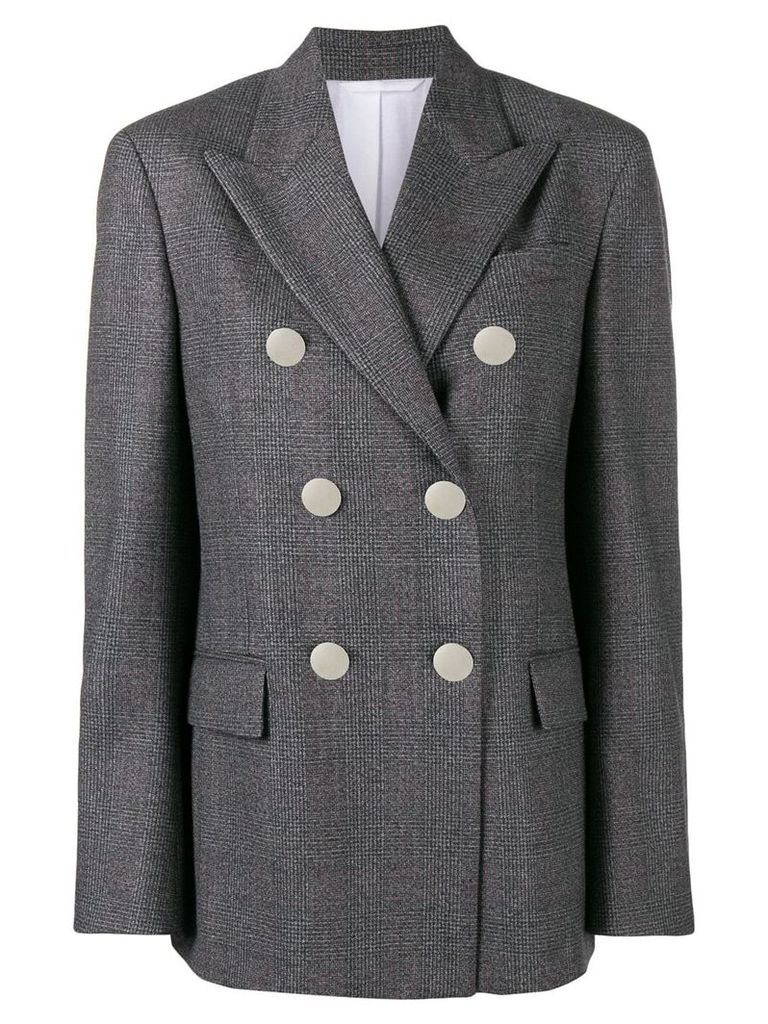 Calvin Klein 205W39nyc double breasted blazer - Grey