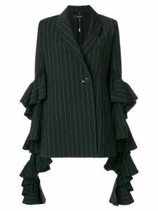 Ellery striped blazer - Black