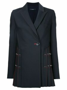 Ellery contrast blazer - Black