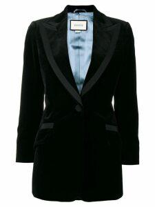 Gucci velvet blazer - Black