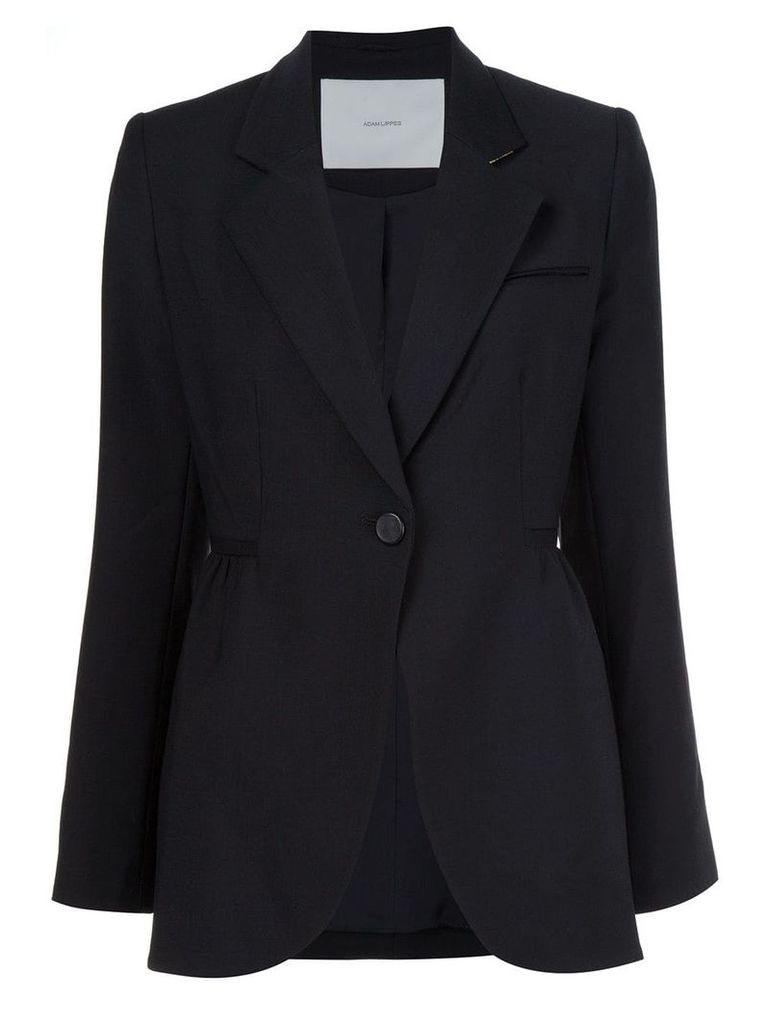 Adam Lippes single button blazer - Black