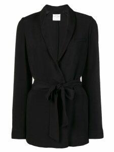 Forte Forte classic belted blazer - Black