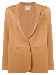 Forte Forte deep V-neck blazer - Neutrals