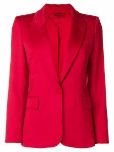 Styland peaked lapels blazer - Red