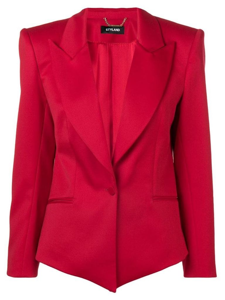 Styland fitted blazer - Red