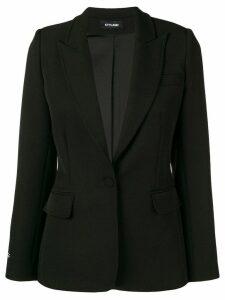 Styland crepe blazer - Black