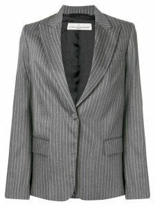Golden Goose oversized pinstripe blazer - Grey