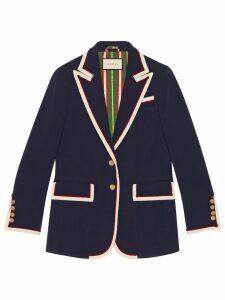 Gucci Stretch viscose jacket - Blue