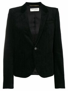 Saint Laurent corduroy blazer - Black