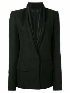 Haider Ackermann shawl collar blazer - Black