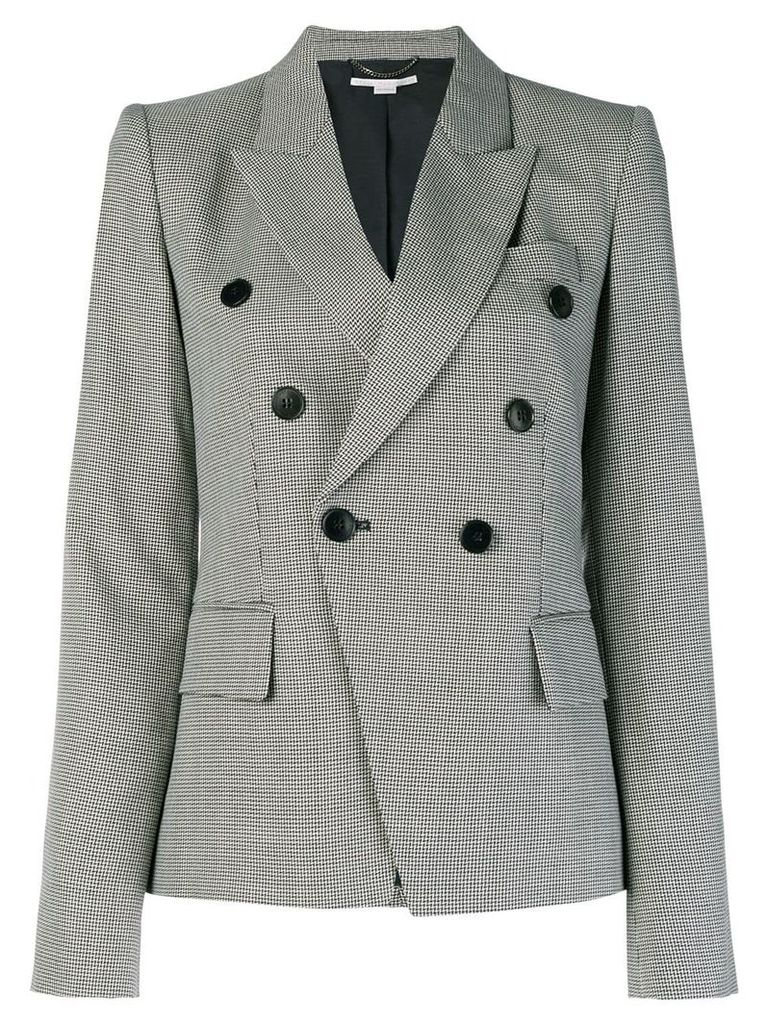 Stella McCartney fitted double-breasted blazer - Black
