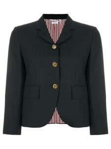 Thom Browne Engineered Stripe Wool Sport Coat - Blue