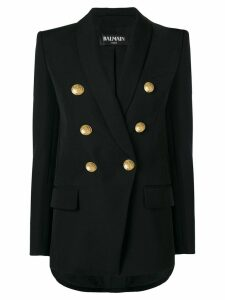 Balmain classic double-breasted blazer - Black