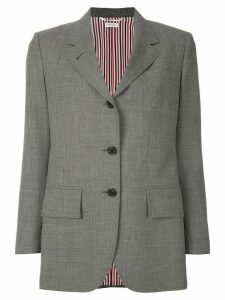 Thom Browne Wide Lapel Sport Coat - Grey