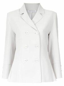 Gloria Coelho panelled blazer - Grey