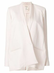 Maison Rabih Kayrouz classic fitted blazer - Pink