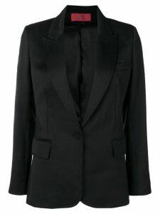 Styland peaked lpeaked lapels blazer - Black
