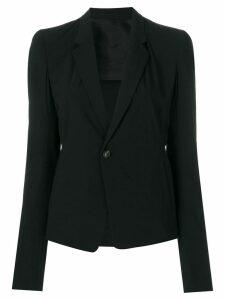 Rick Owens classic tailored jacket - Black