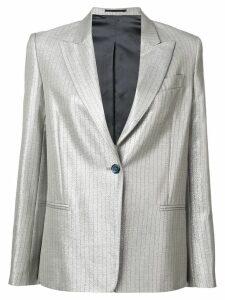 Golden Goose pearlescent pinstripe blazer - Grey