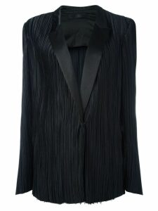 Haider Ackermann classic pleated blazer - Black