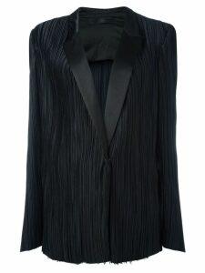 Haider Ackermann classic pleated blazer - Black