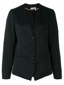 Chloé collarless blazer - Blue