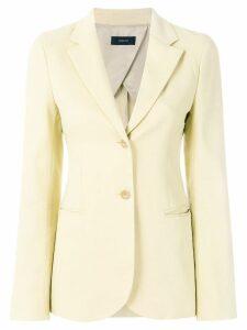 Joseph slim-fit buttoned blazer - Yellow
