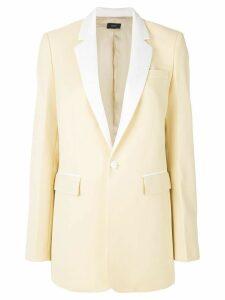 Joseph evening single-breasted blazer - Yellow