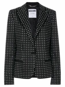 Moschino micro dotted blazer - Black