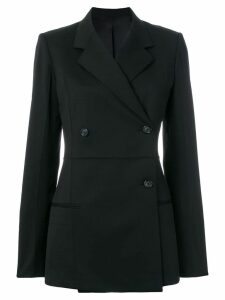 Helmut Lang straight fit blazer - Black