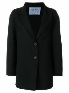 Prada longline masculine blazer - Black