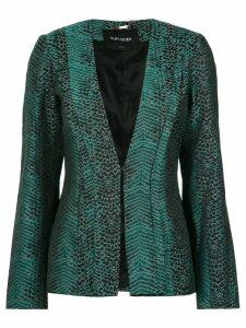 Tufi Duek snakeskin print blazer - Var1