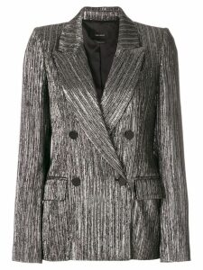 Isabel Marant metallic double-breasted blazer