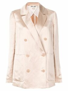 Diane von Furstenberg double-breasted fitted blazer - Neutrals