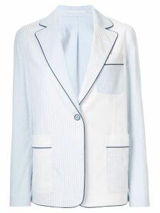 Golden Goose striped blazer - Blue