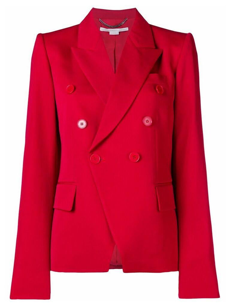 Stella McCartney double breasted blazer - Red