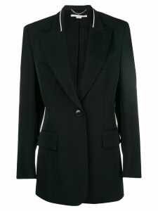 Stella McCartney trimmed blazer - Black