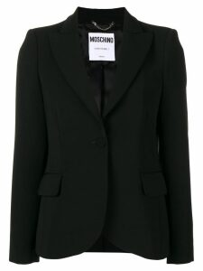Moschino classic blazer - Black