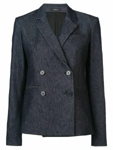 Theory double breasted blazer - Blue