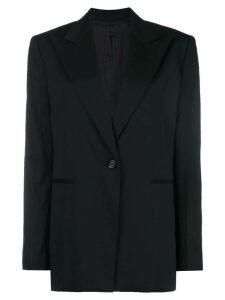 Helmut Lang peak lapel blazer - Black
