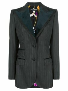 Dolce & Gabbana pinstriped balzer - Grey