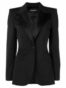 Dolce & Gabbana fitted waist jacket - Black