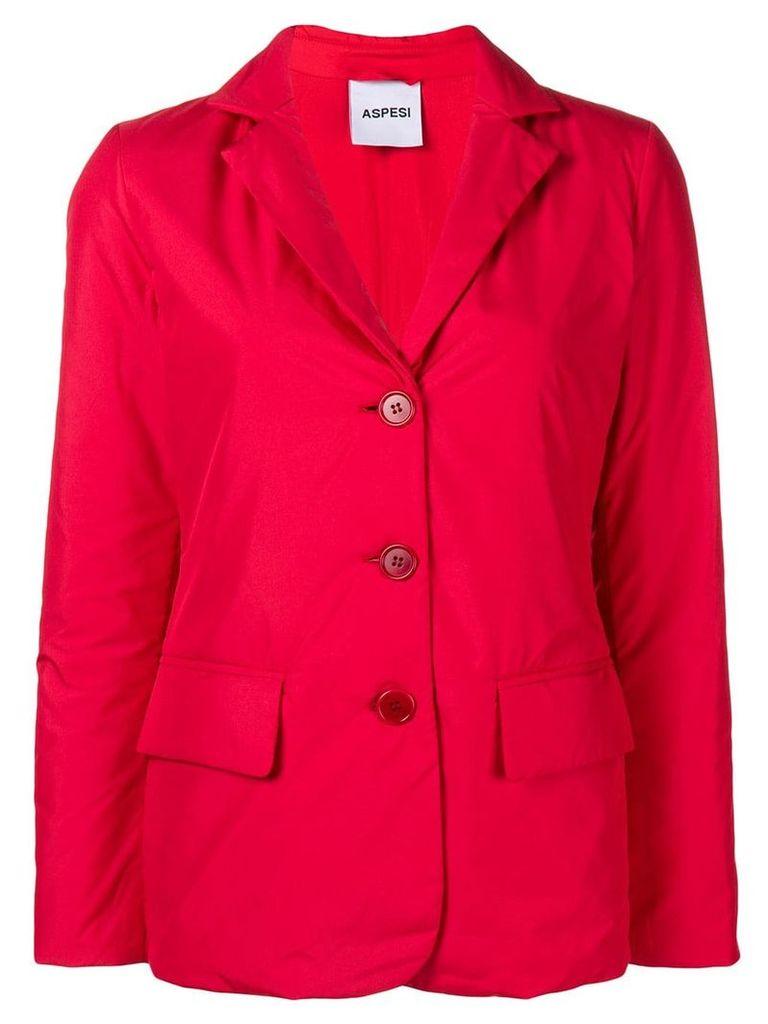 Aspesi padded blazer - Red