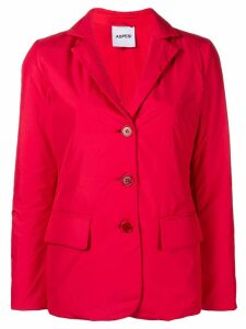Aspesi padded blazer - Red