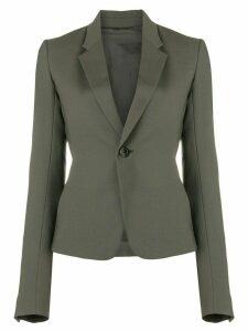 Rick Owens classic slim fit blazer - Grey