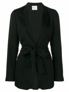 Forte Forte tie waist blazer - Black