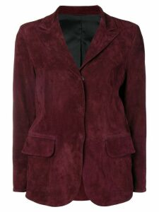 Sylvie Schimmel fitted blazer jacket - Red