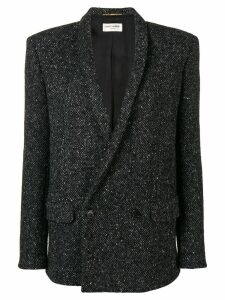 Saint Laurent knitted blazer jacket - Black