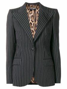 Dolce & Gabbana pinstripe blazer - Black