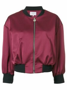 Carven cropped bomber jacket - Pink